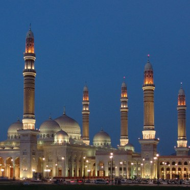 HQ Al Saleh Mosque Wallpapers | File 25.36Kb
