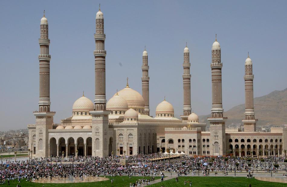 HQ Al Saleh Mosque Wallpapers   File 114.62Kb