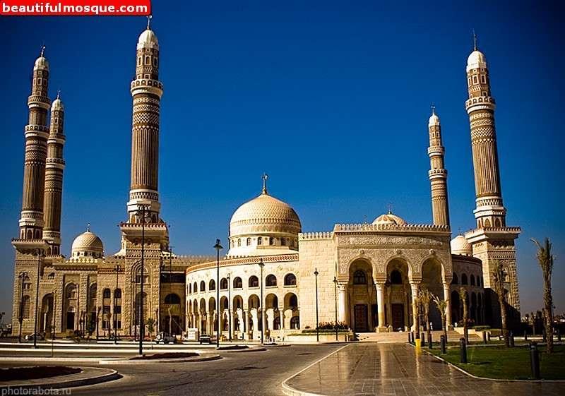 Nice Images Collection: Al Saleh Mosque Desktop Wallpapers