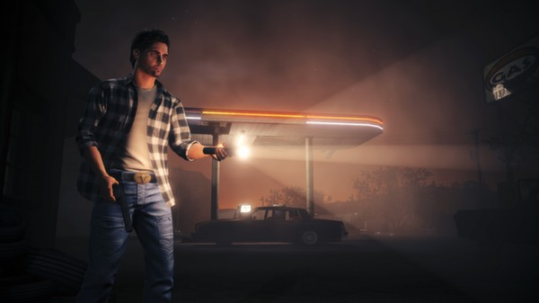 HD Quality Wallpaper   Collection: Video Game, 600x337 Alan Wake's American Nightmare