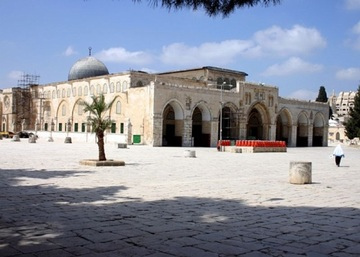 Nice Images Collection: Al-Aqsa Mosque Desktop Wallpapers