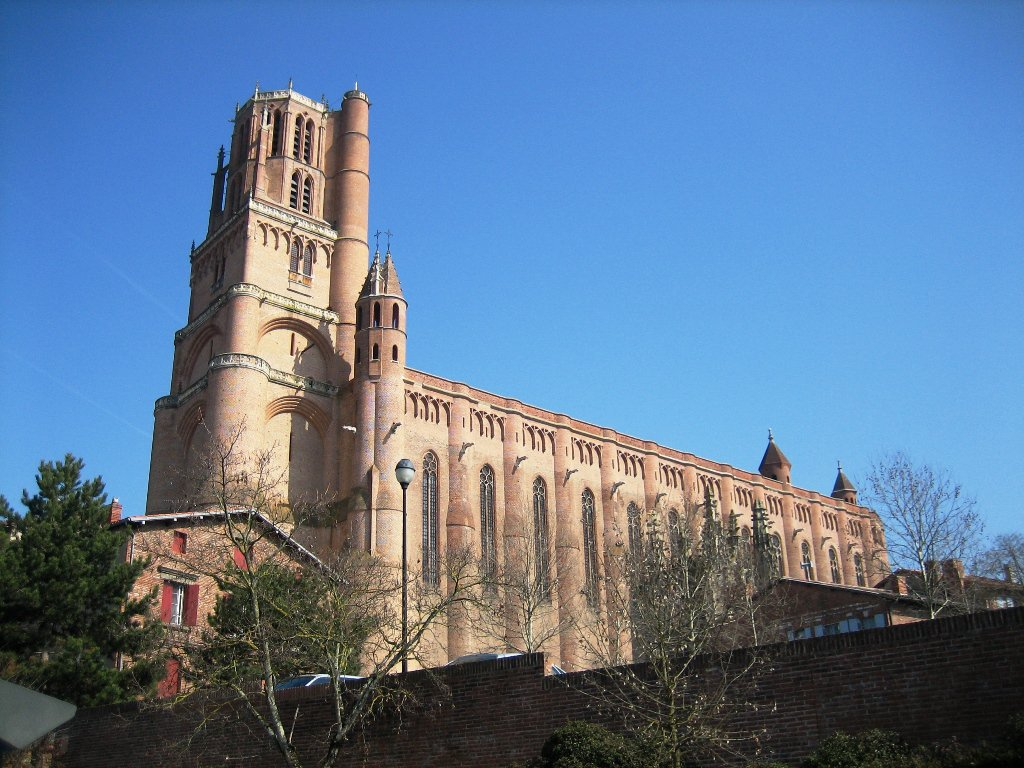 Nice wallpapers Albi Cathedral 1024x768px
