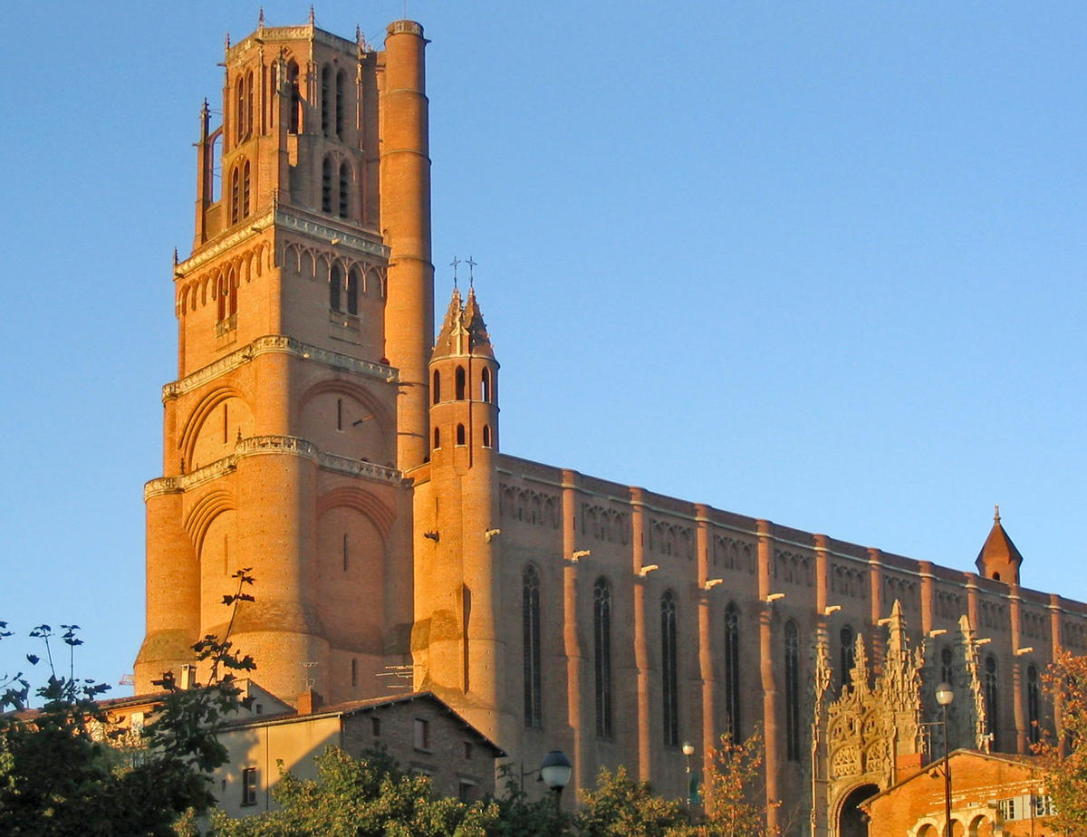 Albi Cathedral Backgrounds on Wallpapers Vista