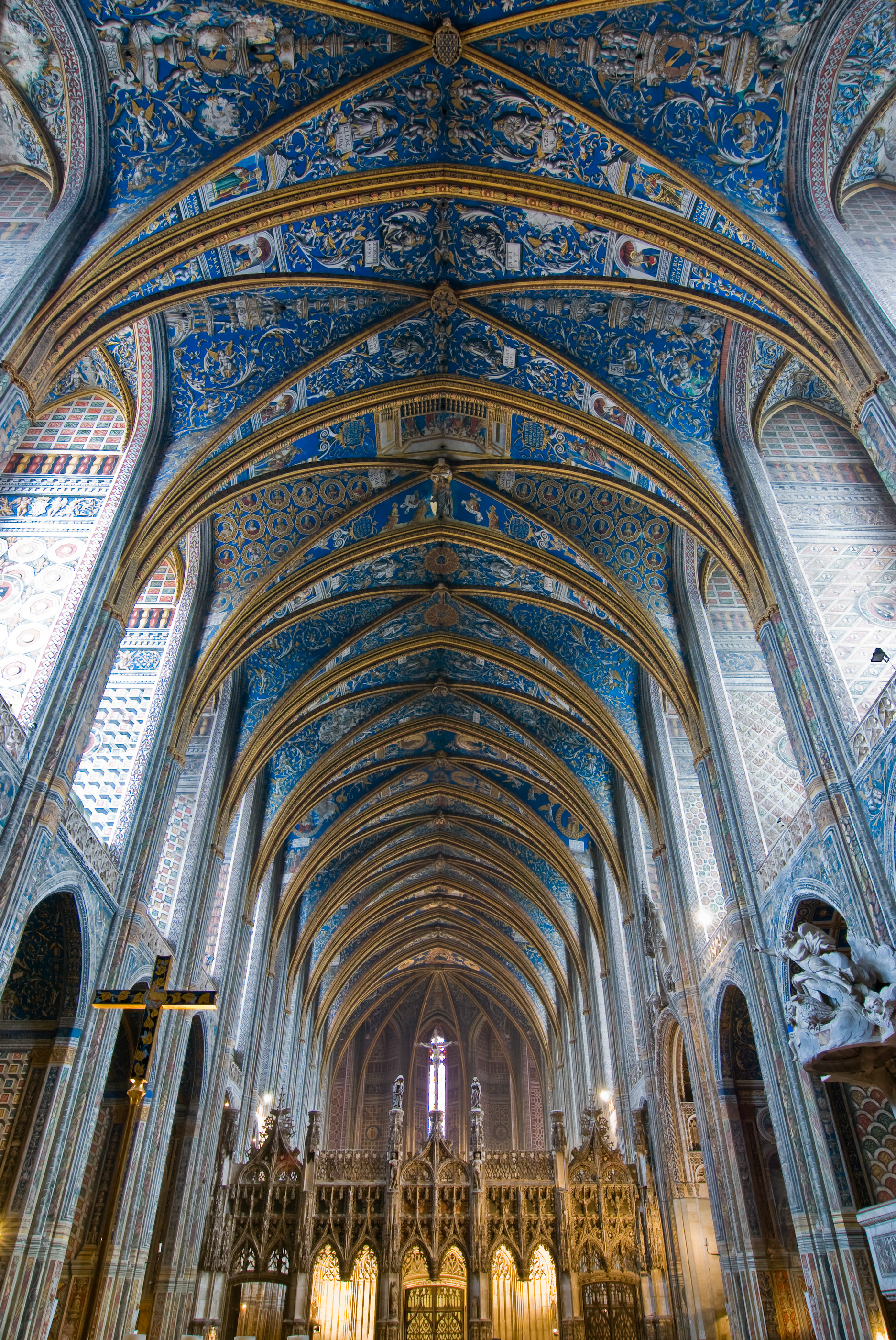 HD Quality Wallpaper | Collection: Religious, 1874x2800 Albi Cathedral