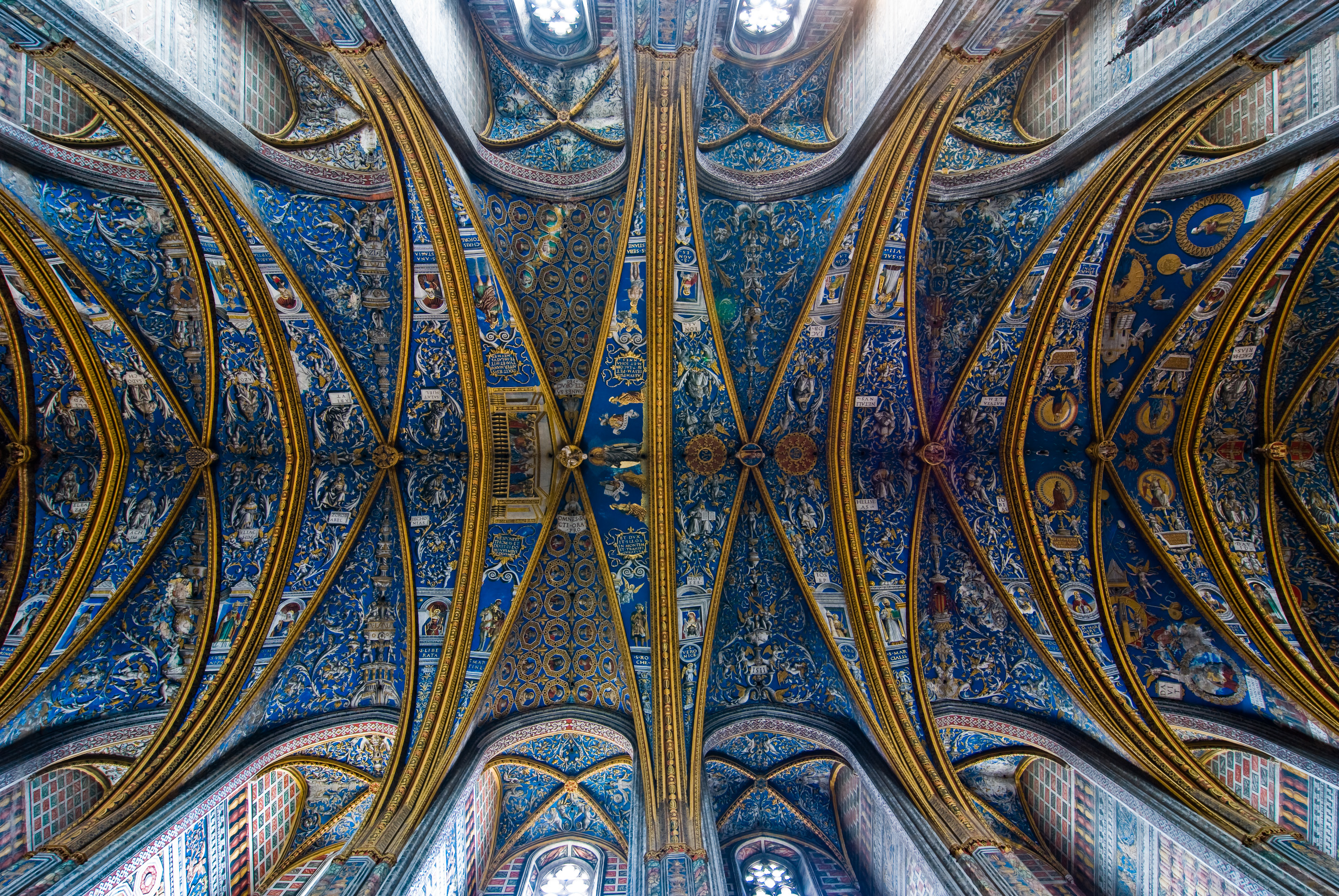 Nice Images Collection: Albi Cathedral Desktop Wallpapers