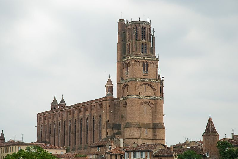 HQ Albi Cathedral Wallpapers | File 55.42Kb