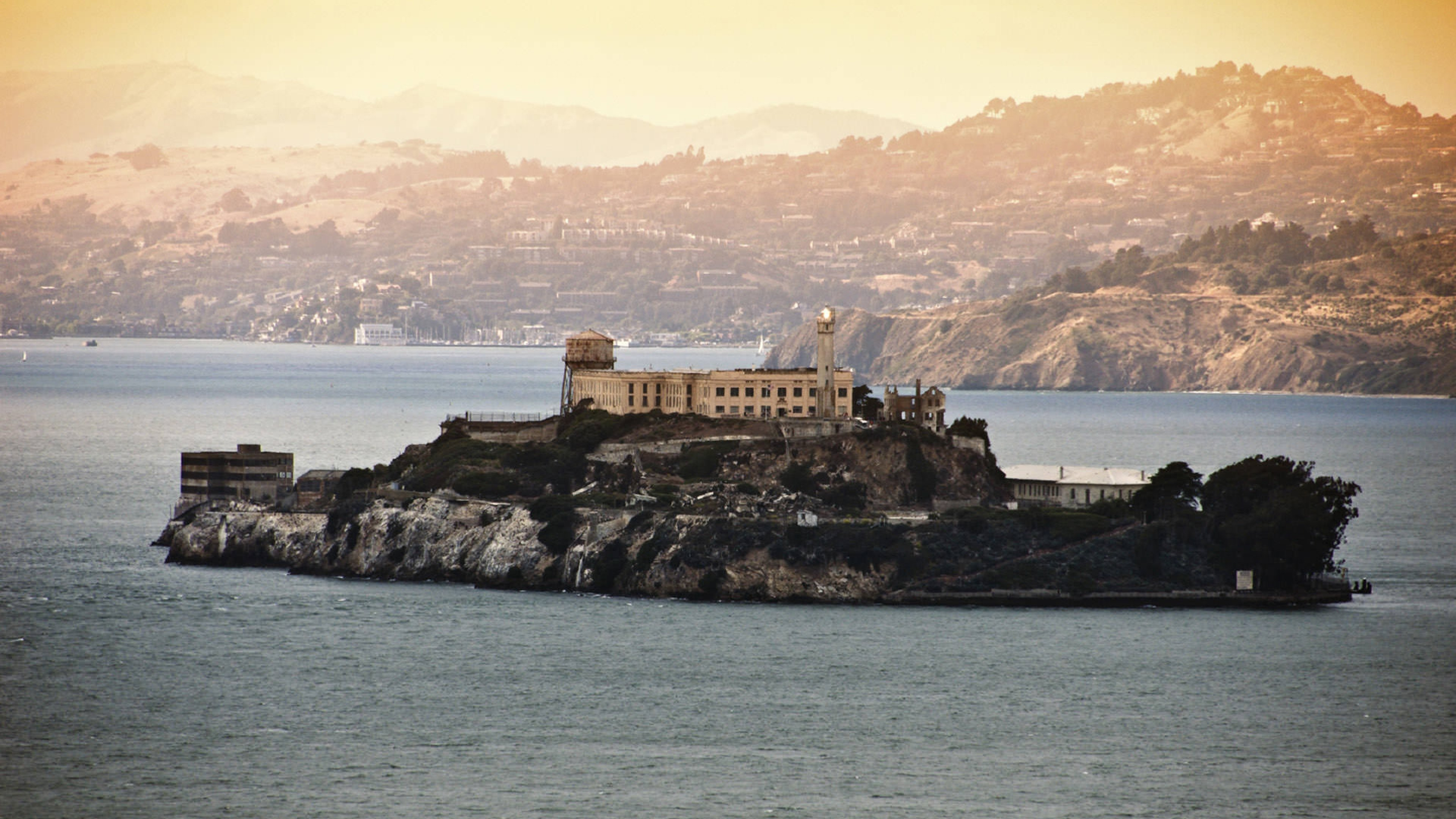 Alcatraz Backgrounds, Compatible - PC, Mobile, Gadgets| 3840x2160 px