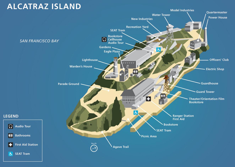 High Resolution Wallpaper | Alcatraz 1324x940 px