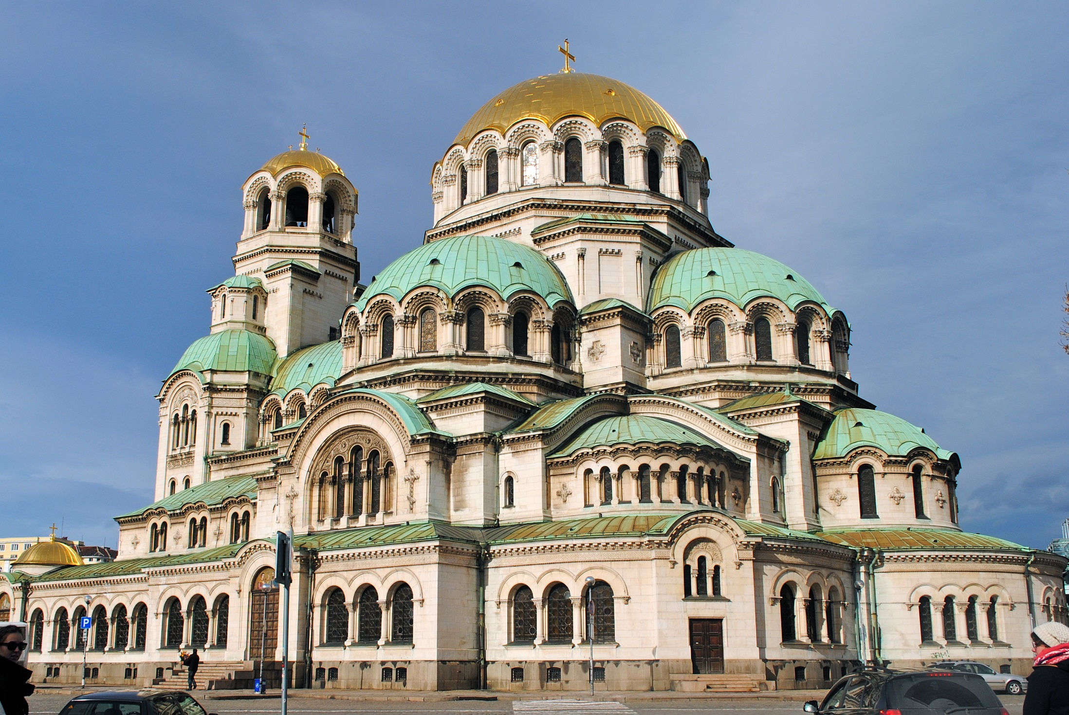 HD Quality Wallpaper | Collection: Religious, 2196x1470 Alexander Nevsky Cathedral, Sofia