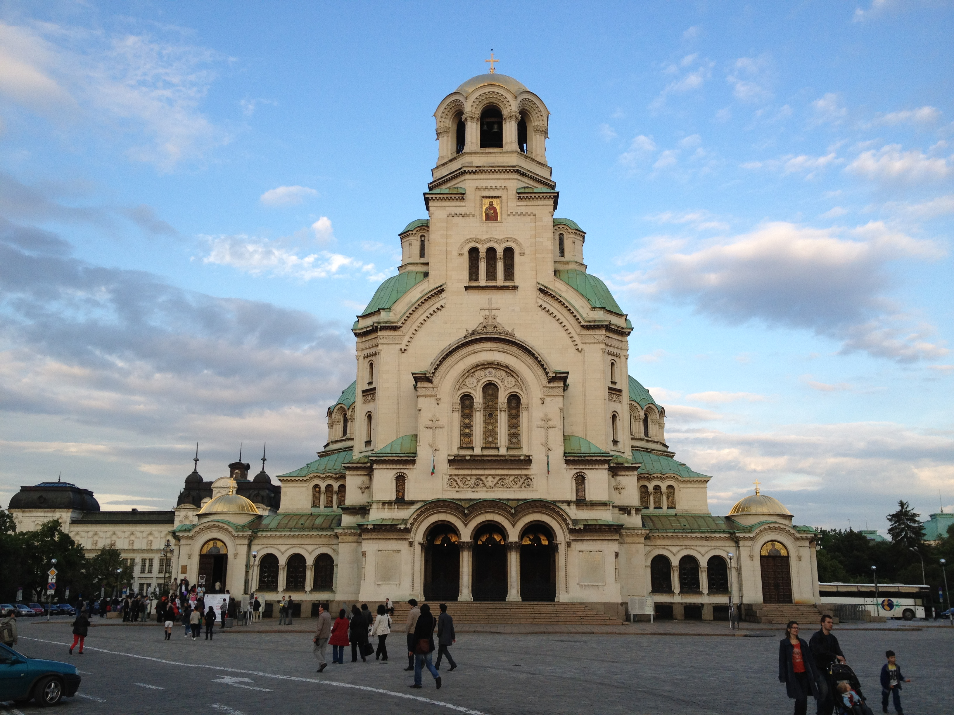 Nice Images Collection: Alexander Nevsky Cathedral, Sofia Desktop Wallpapers