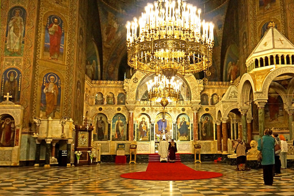 Images of Alexander Nevsky Cathedral, Sofia | 585x390