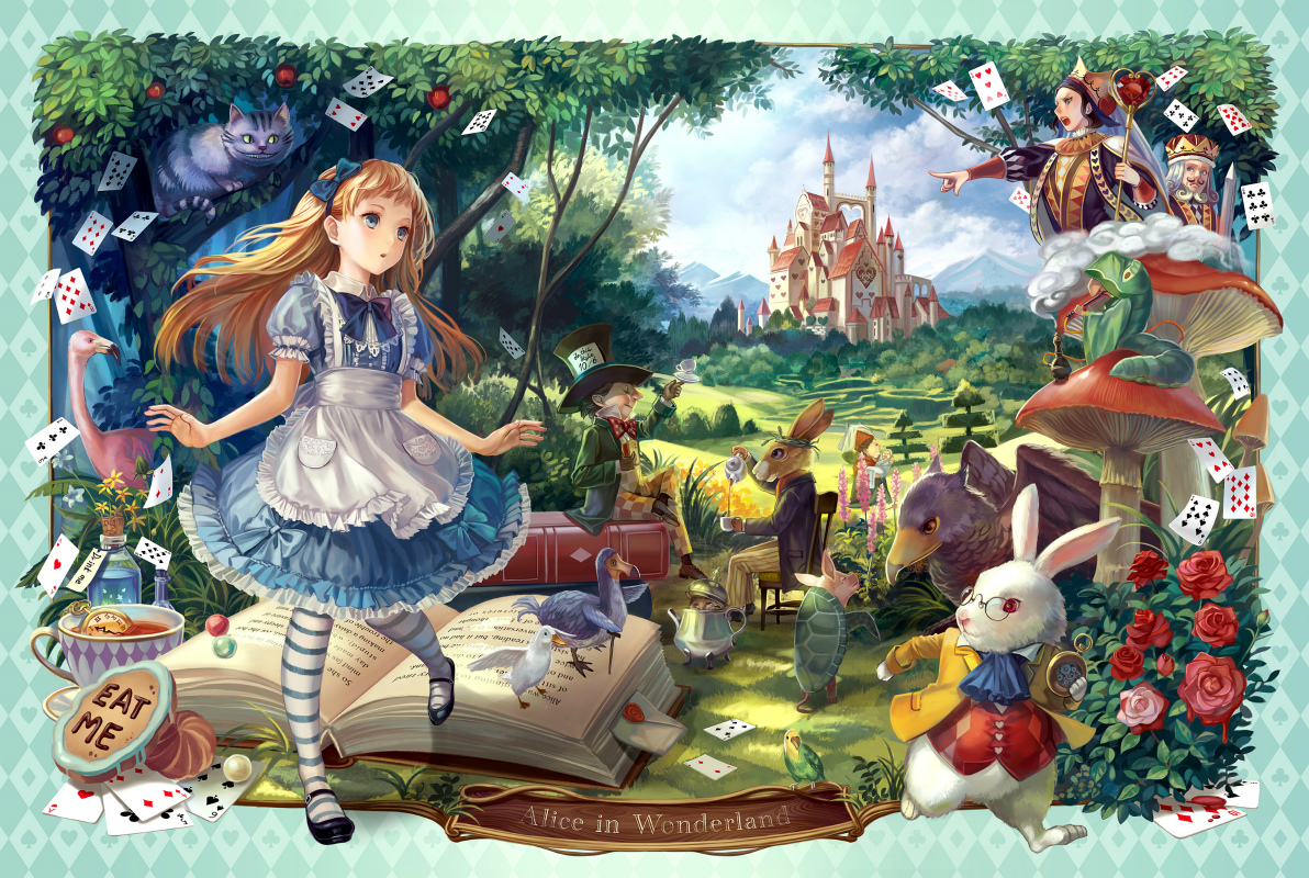 High Resolution Wallpaper | Alice In Wonderland 1192x800 px