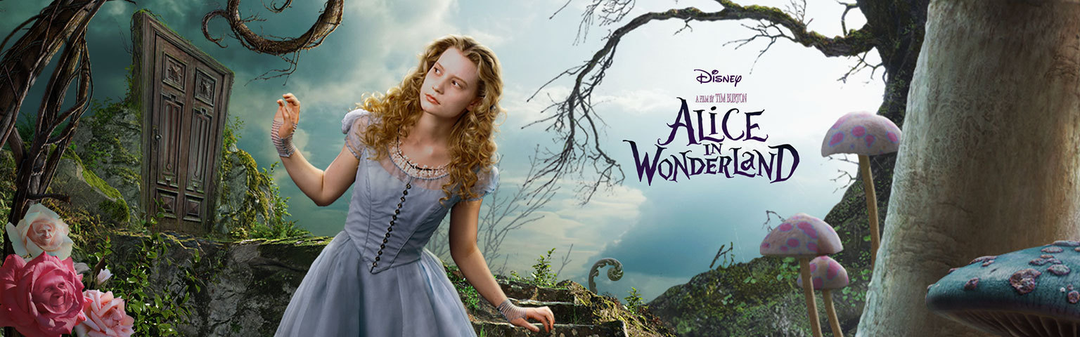 Alice In Wonderland Backgrounds, Compatible - PC, Mobile, Gadgets| 1536x480 px