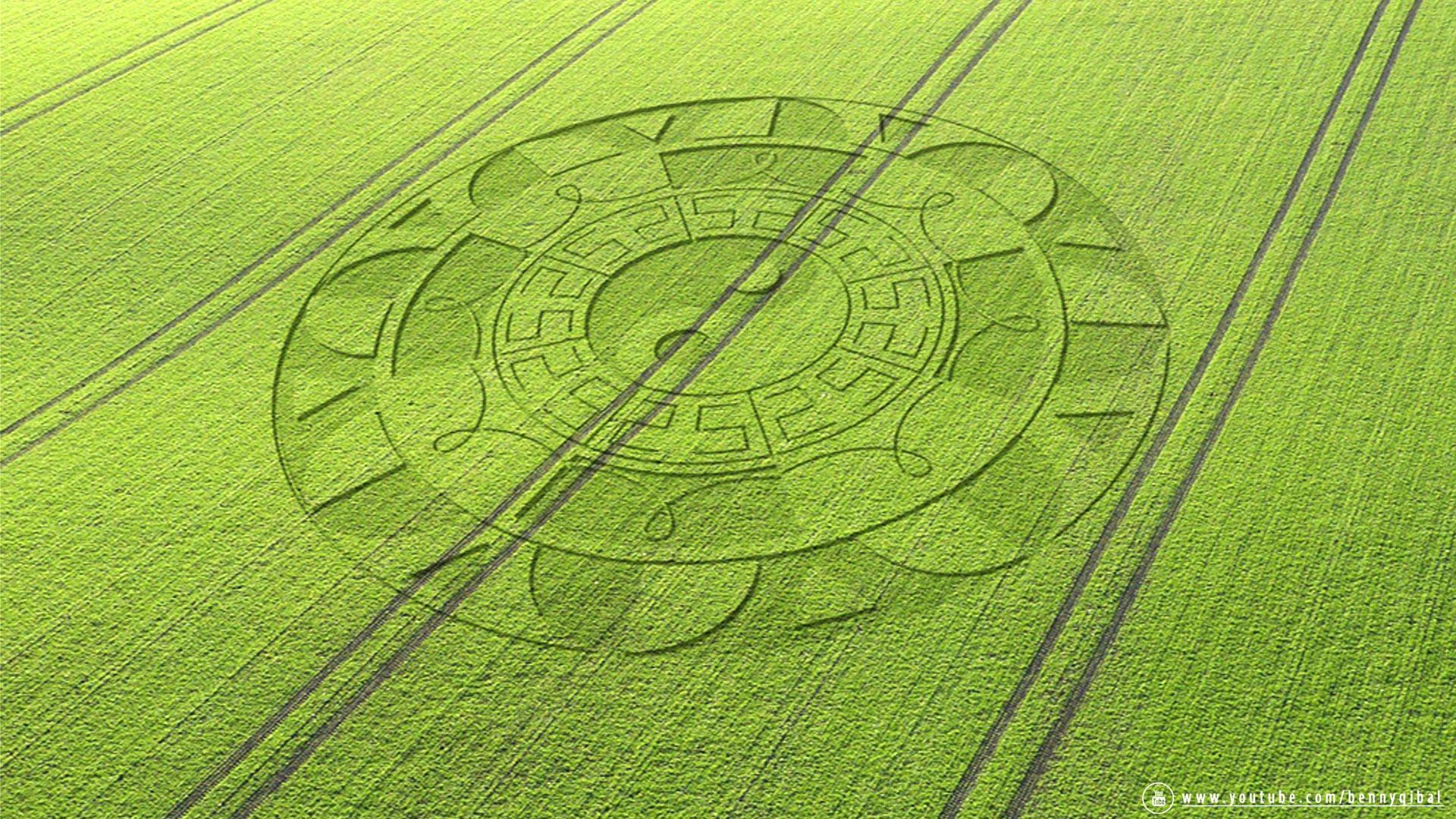 Nice Images Collection: Alien Circles Desktop Wallpapers