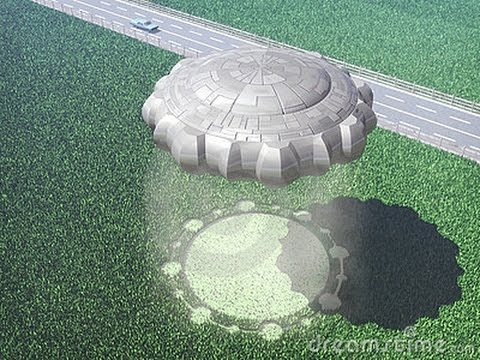 Nice wallpapers Alien Circles 480x360px