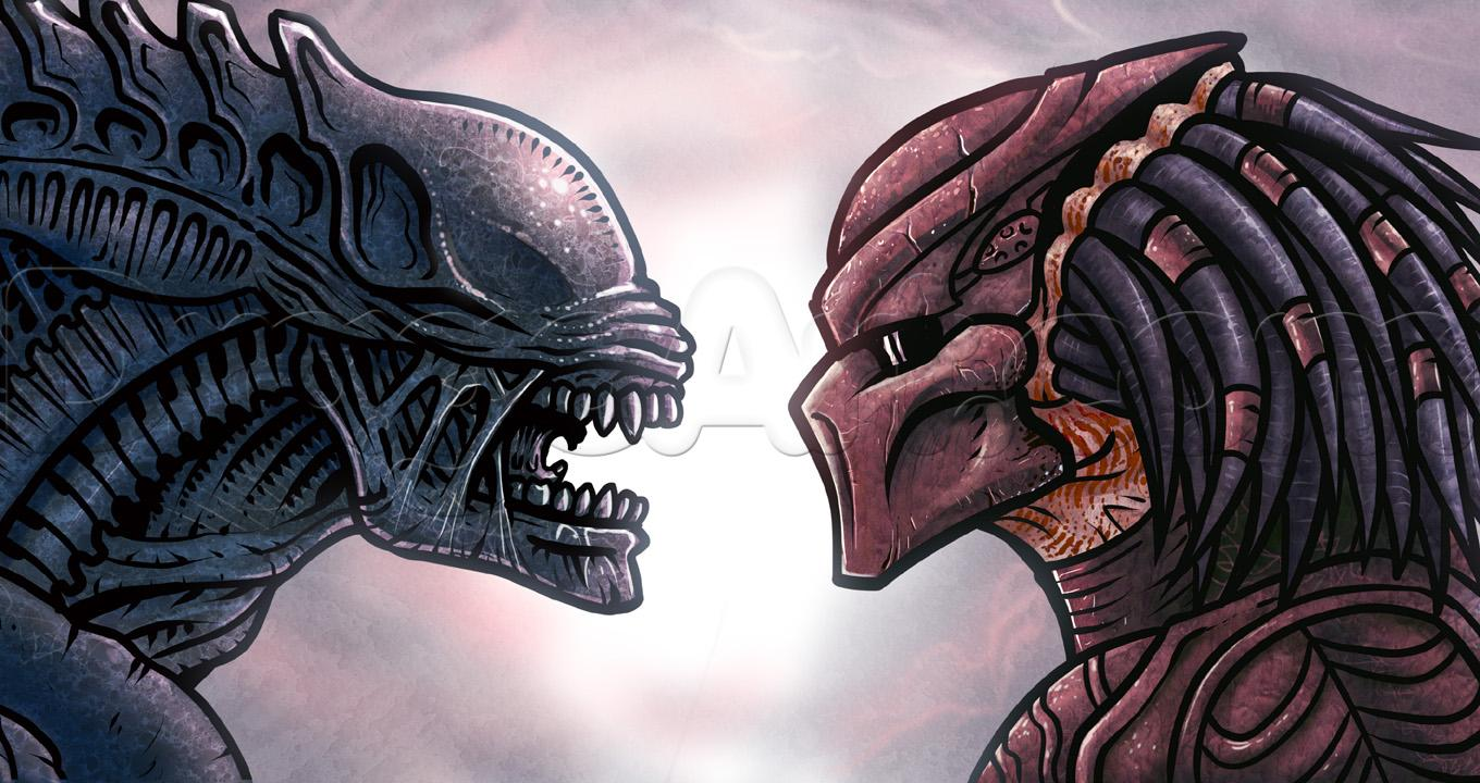 Alien Vs. Predator High Quality Background on Wallpapers Vista