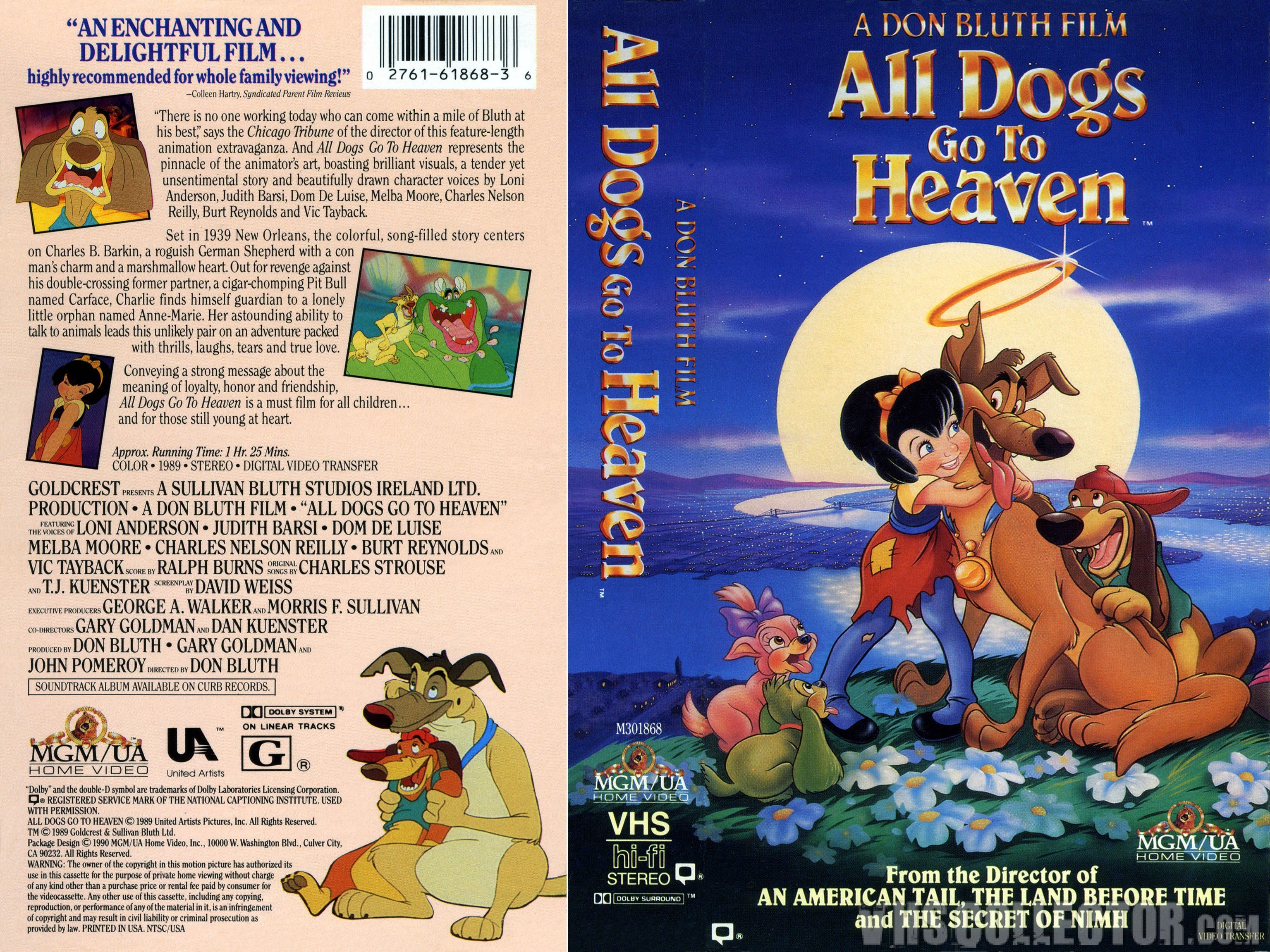 All Dogs Go To Heaven Backgrounds on Wallpapers Vista