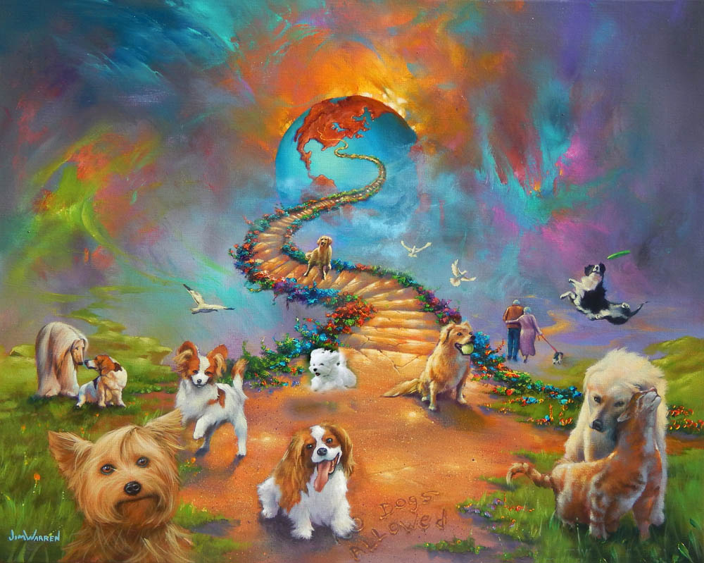 Nice Images Collection: All Dogs Go To Heaven Desktop Wallpapers