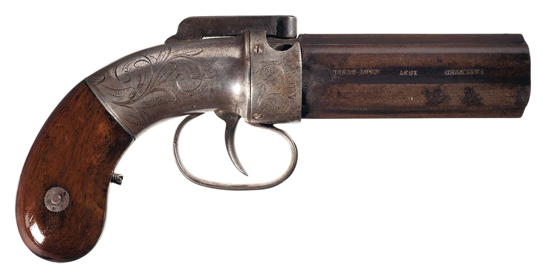 Amazing Allen & Thurber Pepperbox Pistol Pictures & Backgrounds