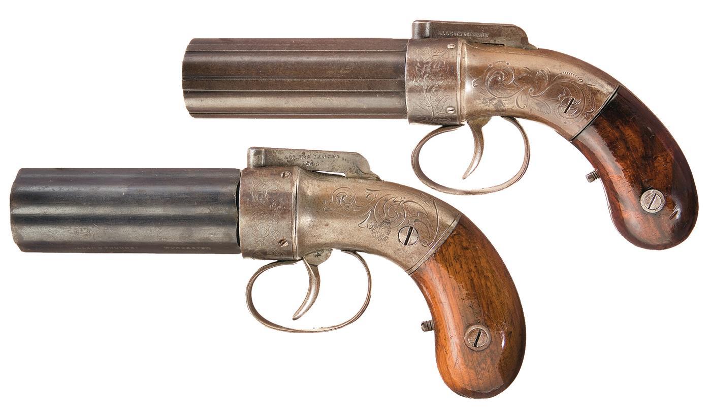 Allen & Thurber Pepperbox Pistol Backgrounds on Wallpapers Vista