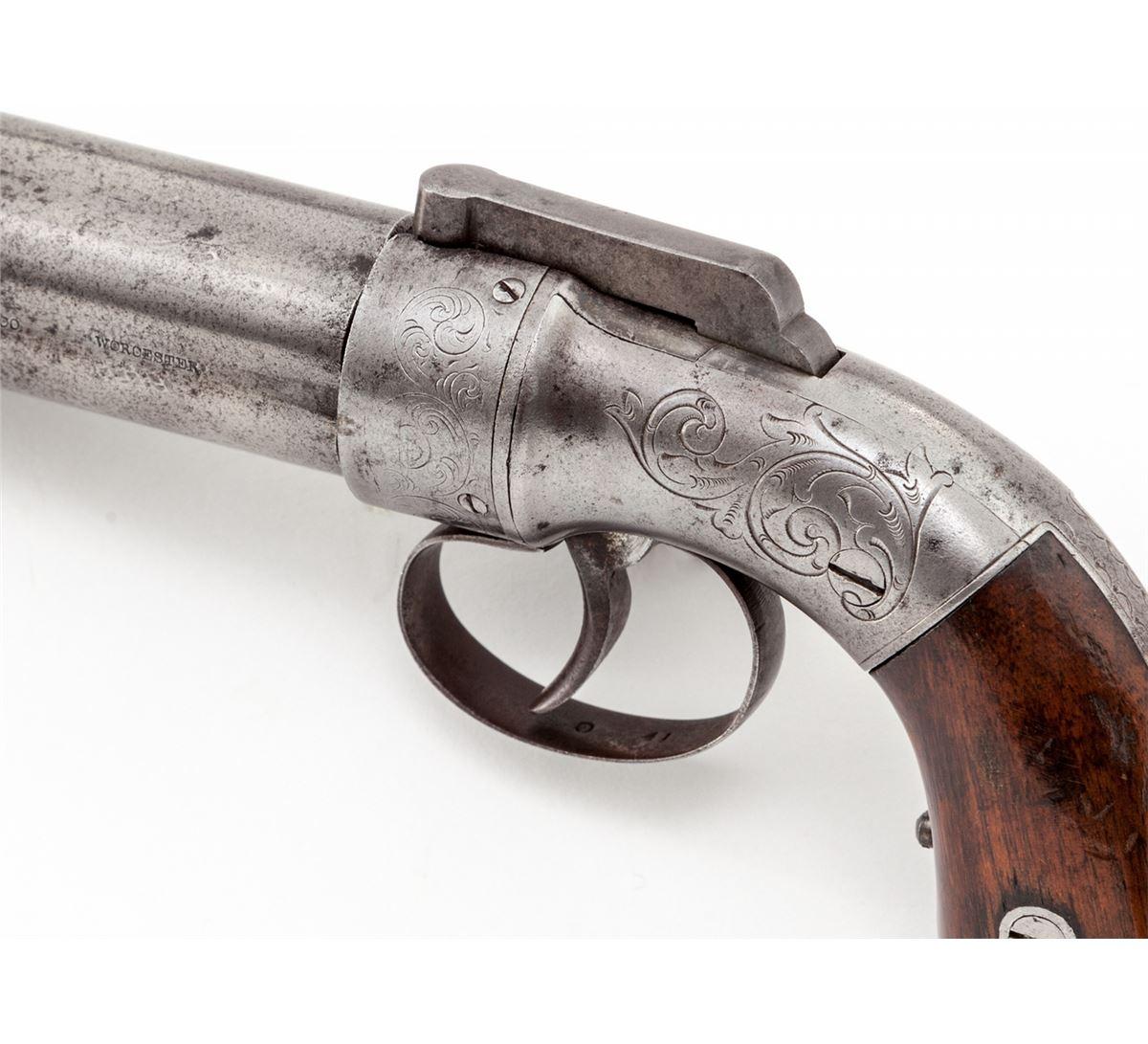 Images of Allen & Thurber Pepperbox Pistol   1200x1091