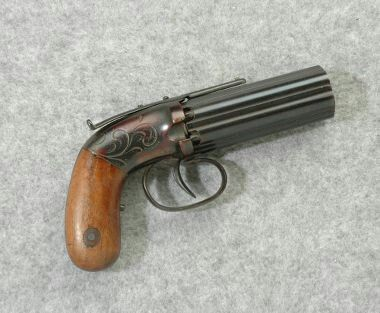 HQ Allen & Thurber Pepperbox Pistol Wallpapers   File 23.4Kb