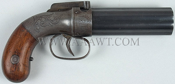 HQ Allen & Thurber Pepperbox Pistol Wallpapers | File 39.8Kb