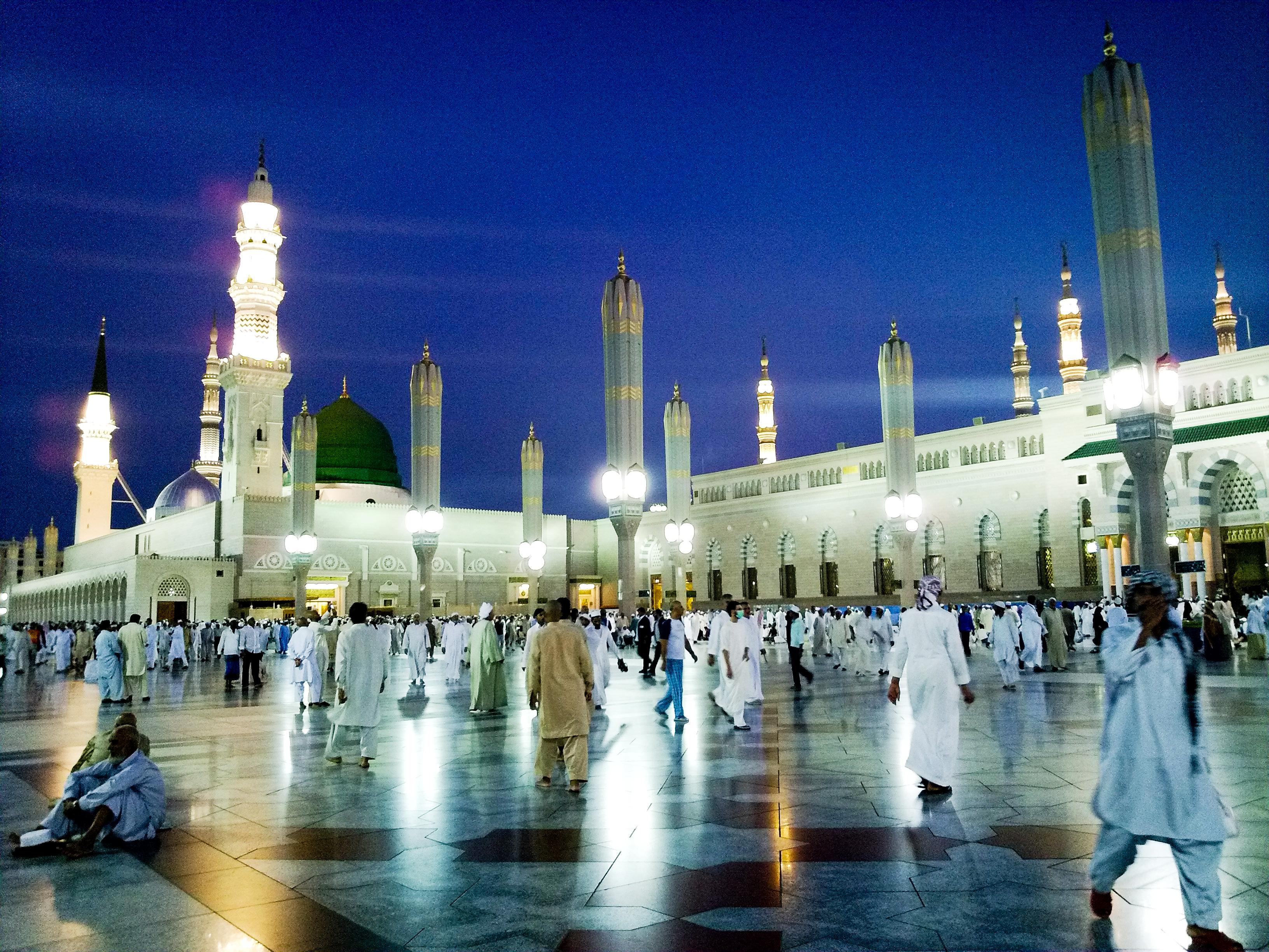High Resolution Wallpaper | Al-Masjid Al-Nabawi 3264x2448 px