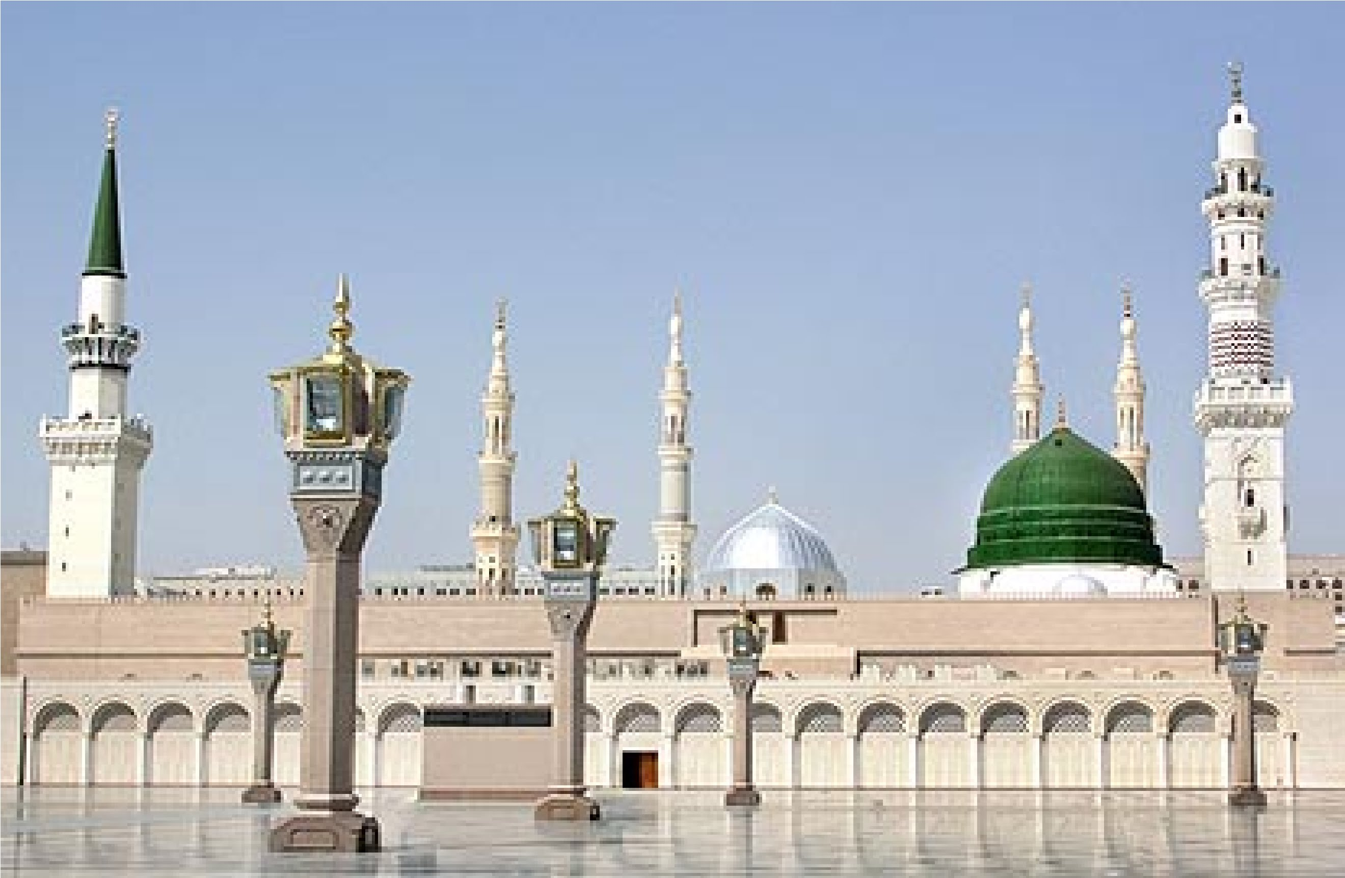 Al-Masjid Al-Nabawi Backgrounds on Wallpapers Vista