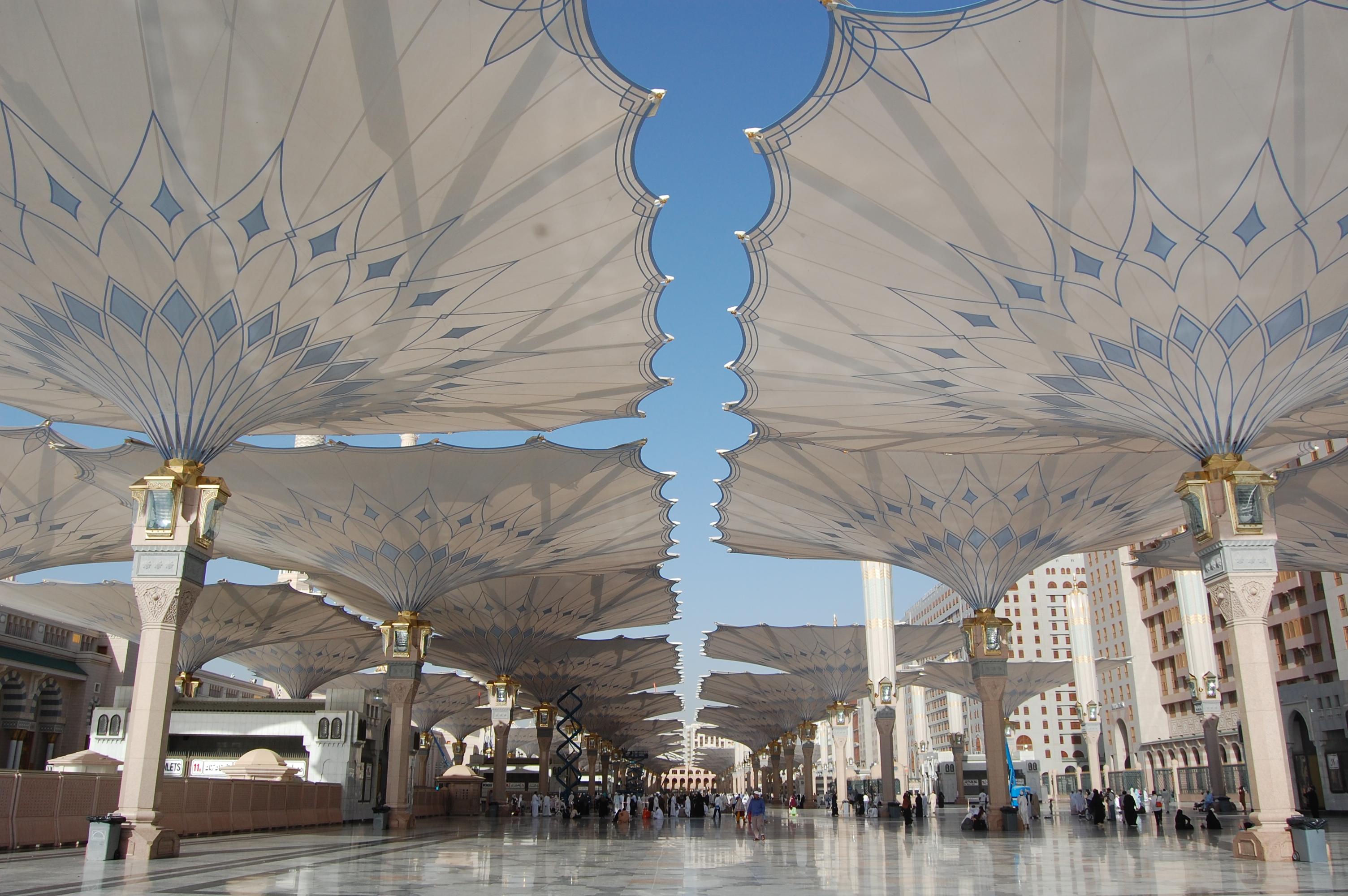 Nice Images Collection: Al-Masjid Al-Nabawi Desktop Wallpapers