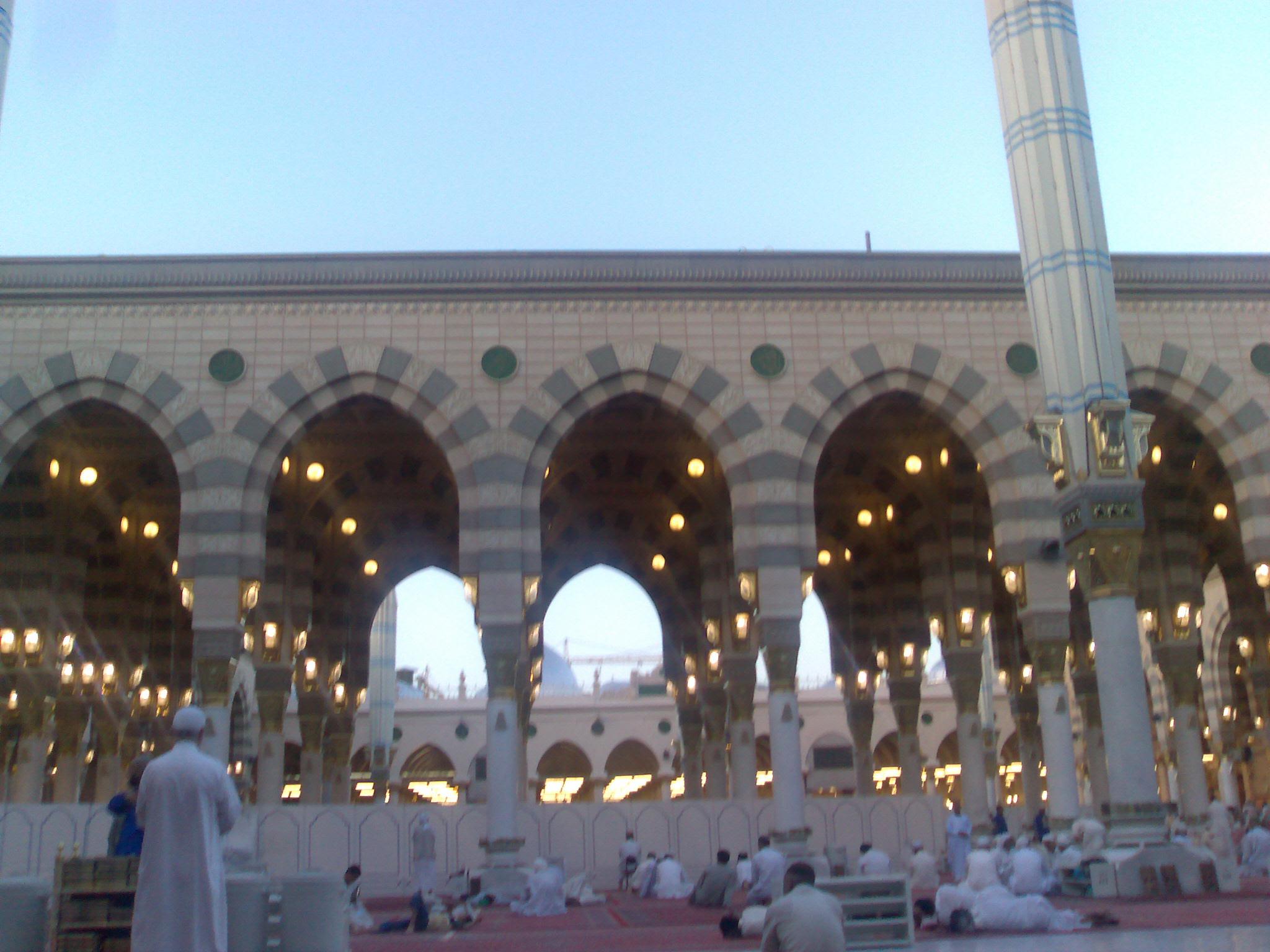 Nice wallpapers Al-Masjid Al-Nabawi 2048x1536px