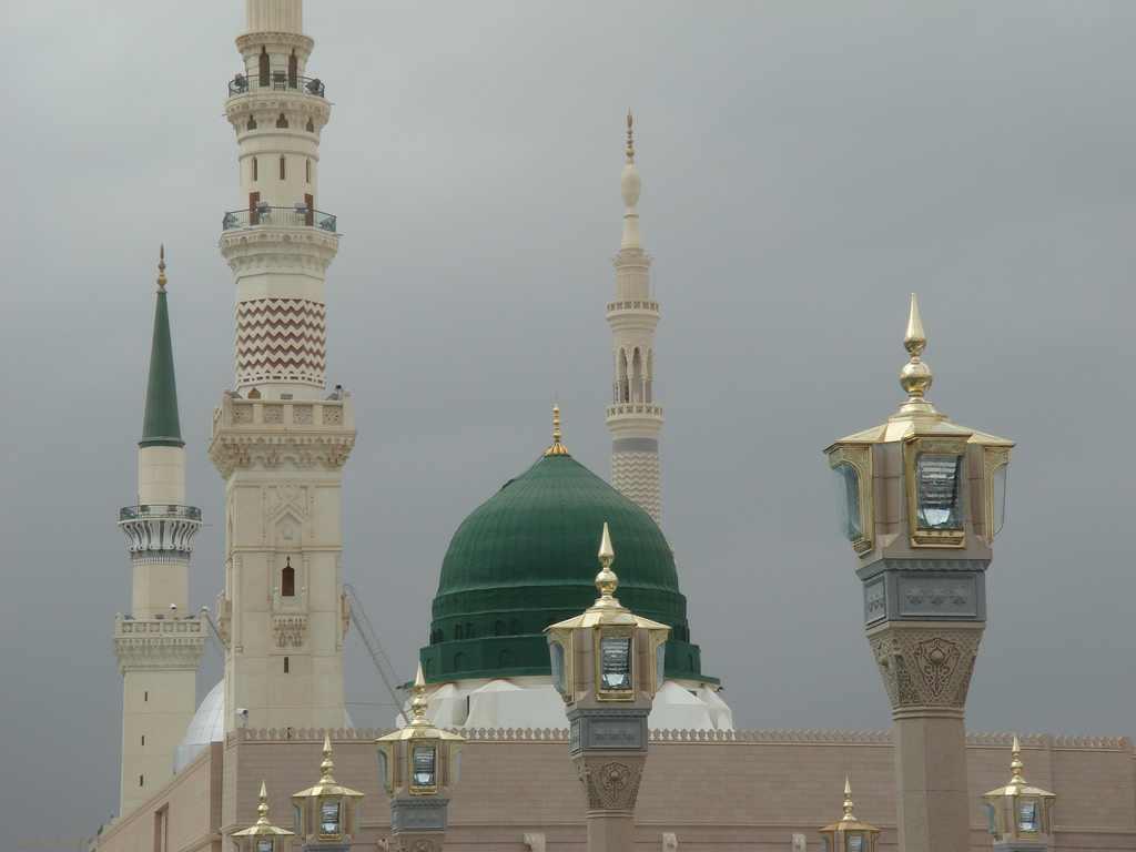 Nice wallpapers Al-Masjid Al-Nabawi 1024x768px