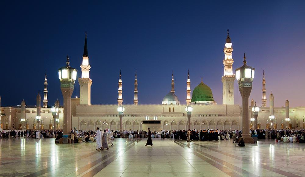 Images of Al-Masjid Al-Nabawi | 1000x580