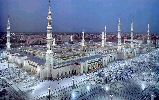 Nice wallpapers Al-Masjid Al-Nabawi 640x404px
