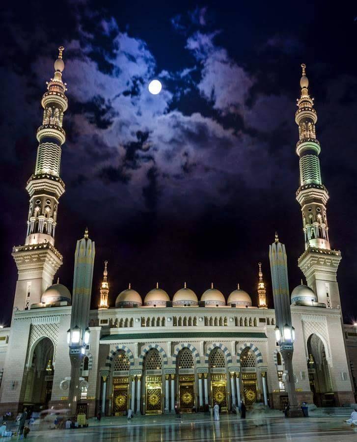 Nice wallpapers Al-Masjid Al-Nabawi 727x900px