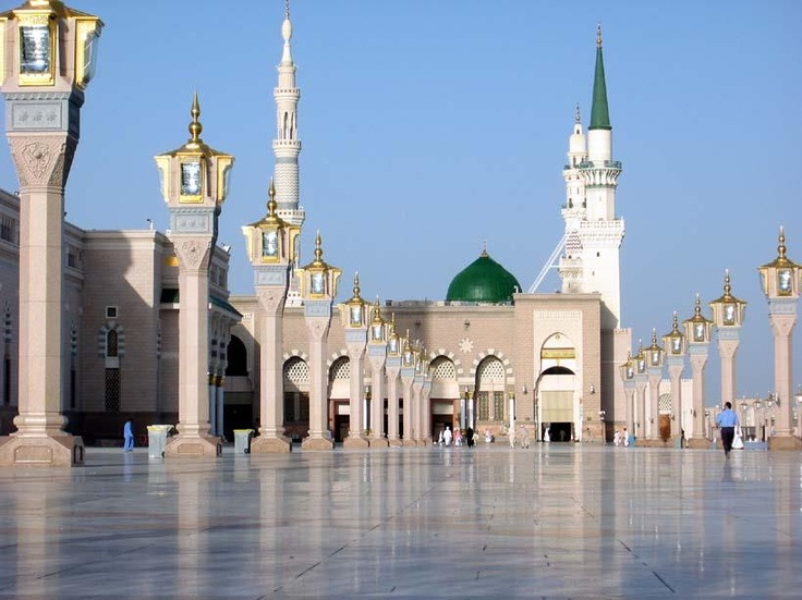 HD Quality Wallpaper | Collection: Religious, 736x551 Al-Masjid Al-Nabawi