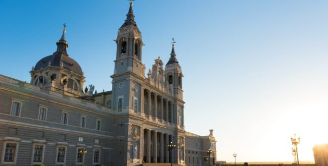 Amazing Almudena Cathedral Pictures & Backgrounds
