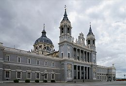 High Resolution Wallpaper | Almudena Cathedral 260x178 px