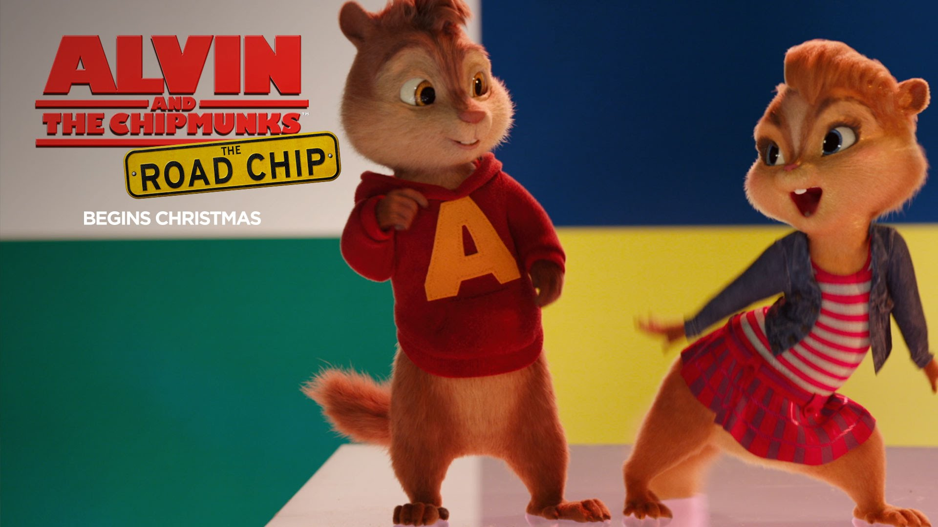 Alvin And The Chipmunks Alvin And Brittany alvin and the chipmunks: the road chip wallpapers, movie, hq