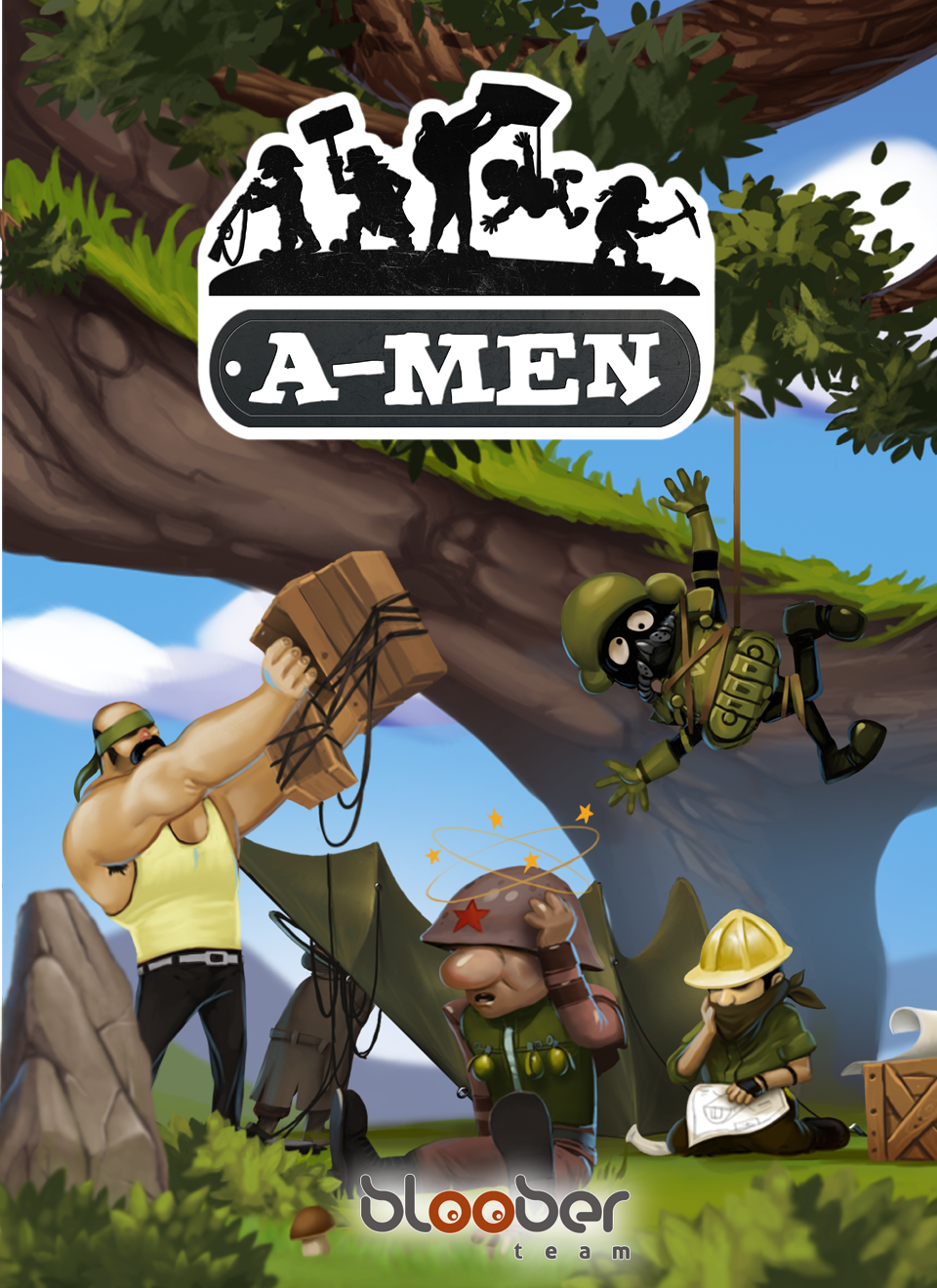 Nice wallpapers A-men 960x1320px