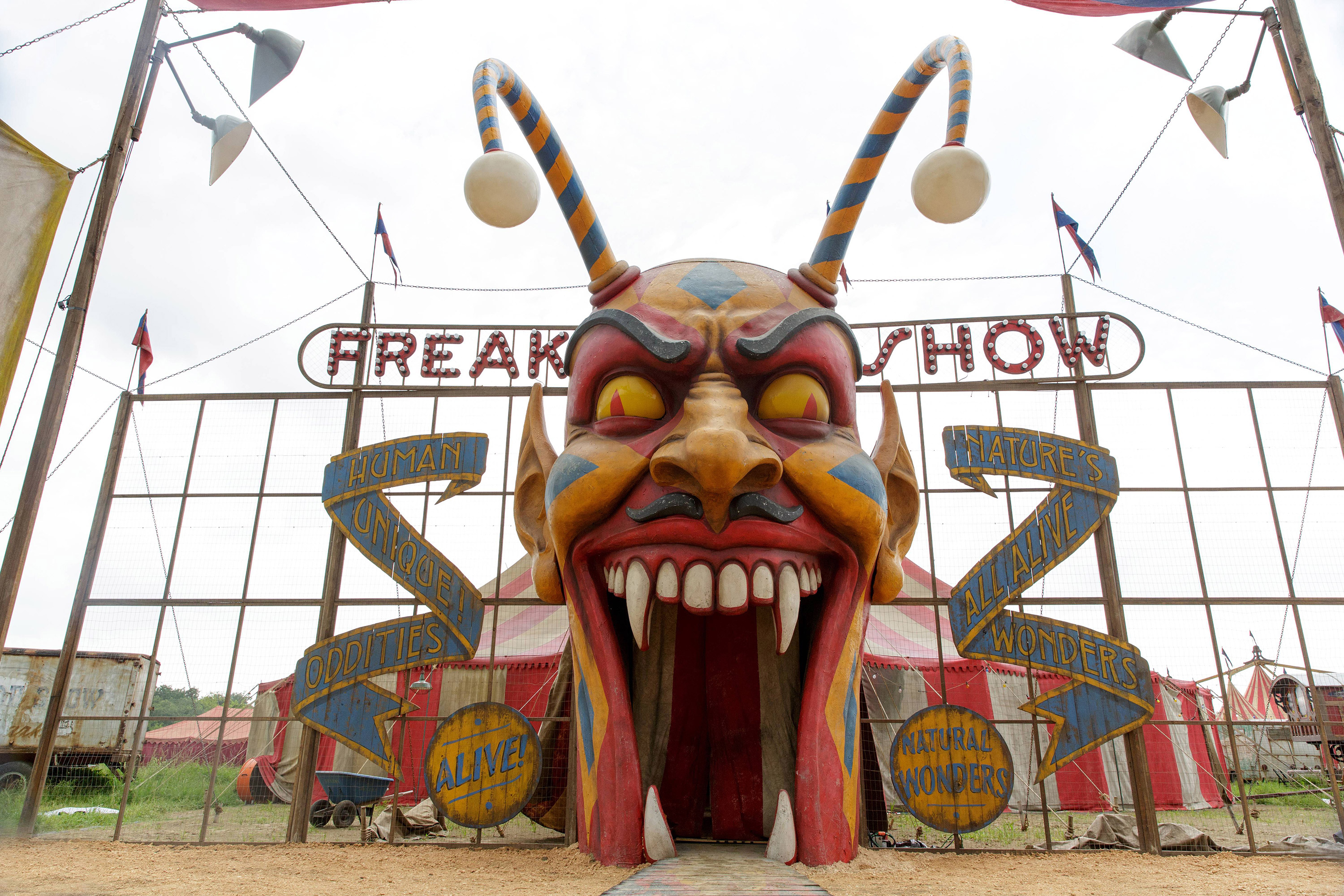 American Horror Story Freak Show Wallpapers Tv Show Hq American
