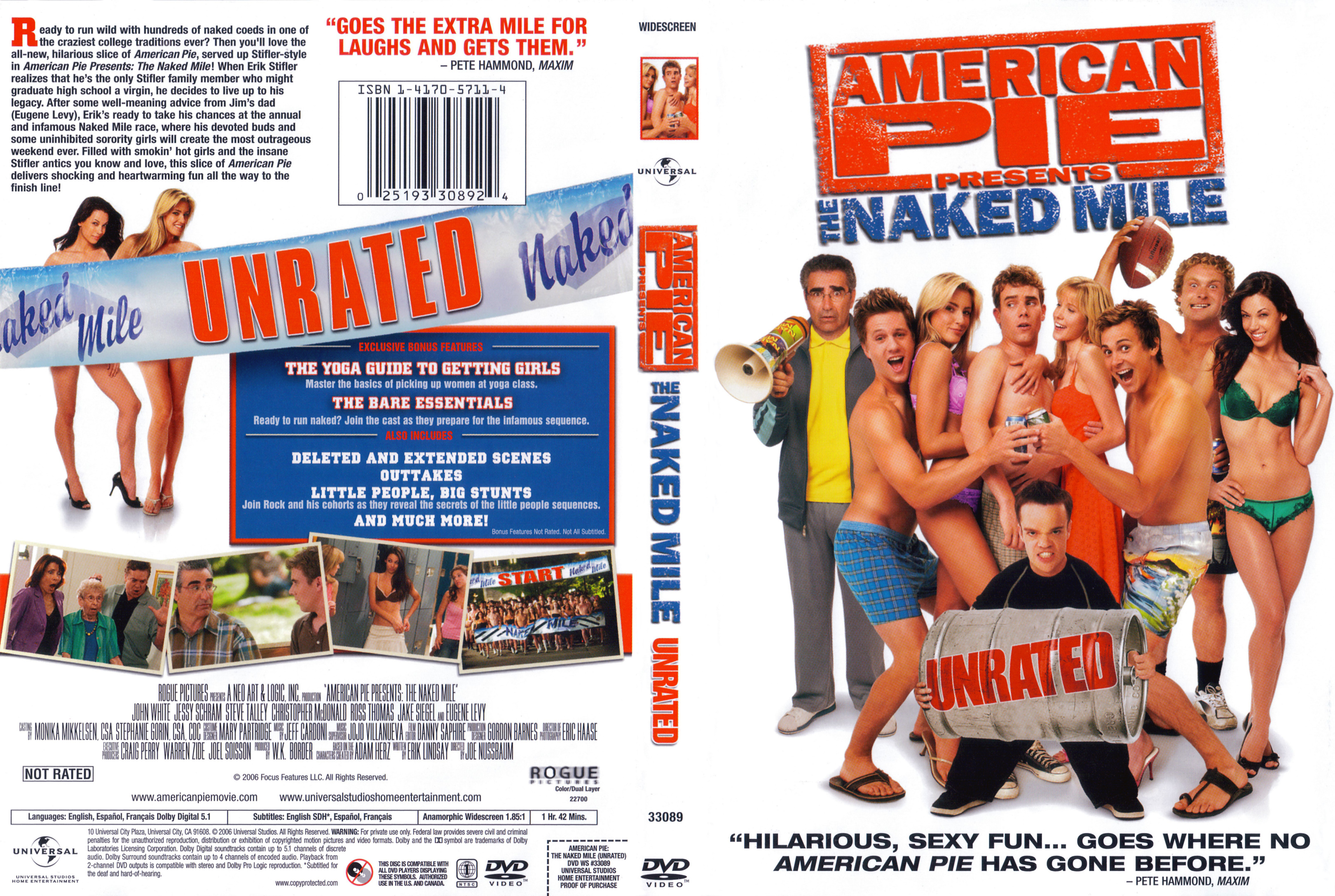 Celebrity picture archive the naked mile