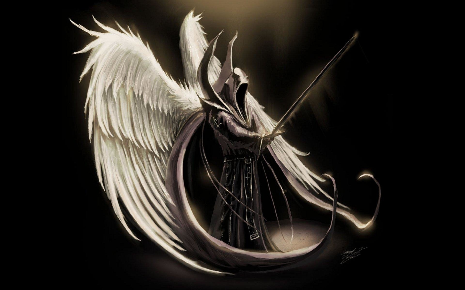 Nice Images Collection: Angel Warrior Desktop Wallpapers