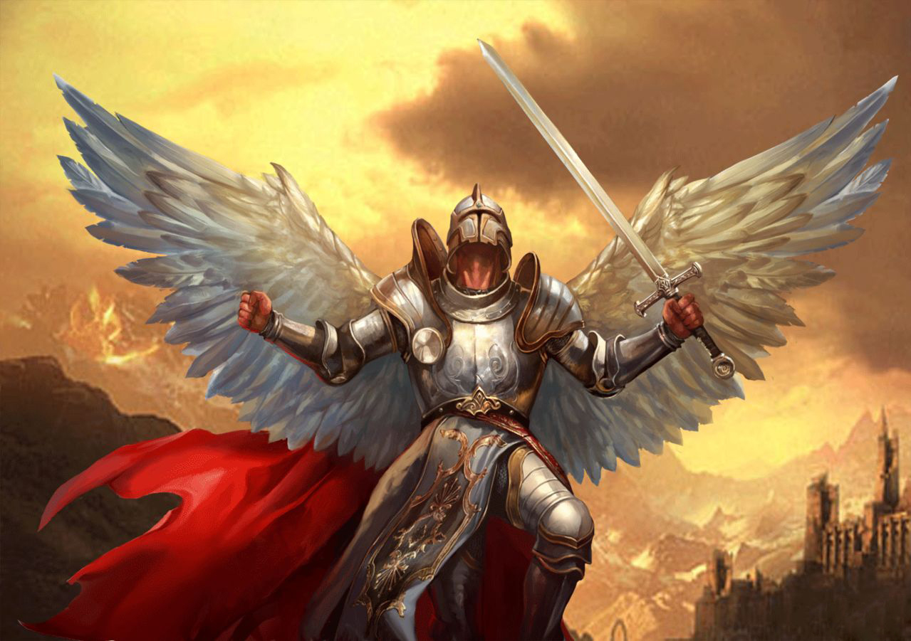 1279x901 > Angel Warrior Wallpapers