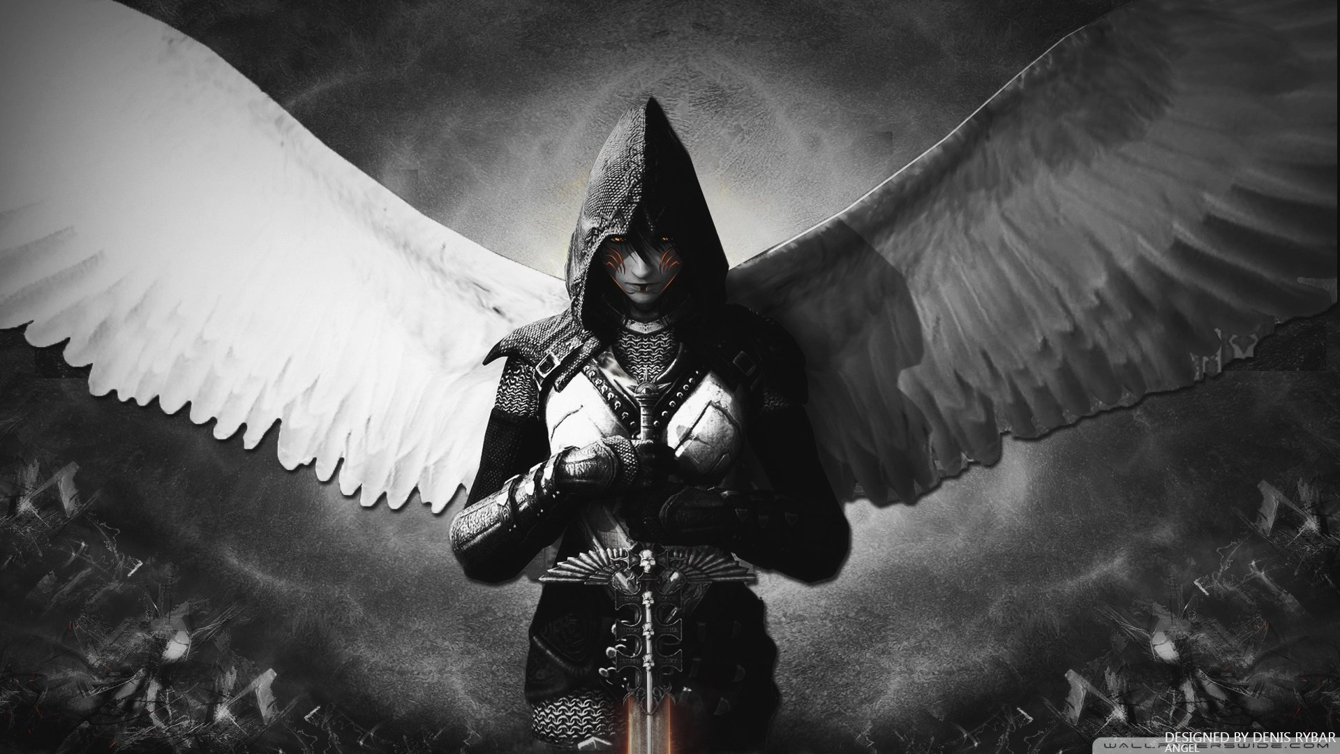 Angel Warrior High Quality Background on Wallpapers Vista