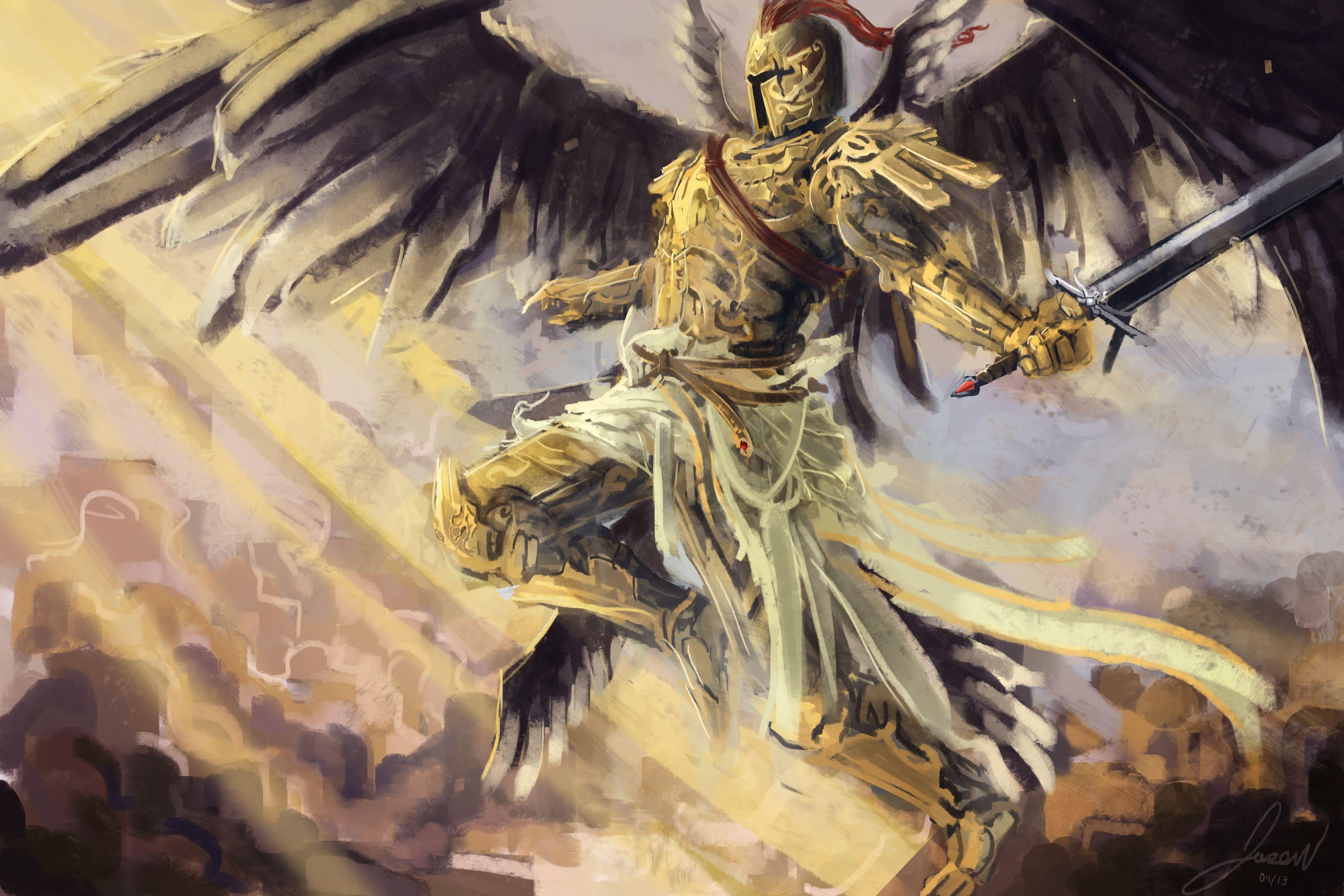 Angel Warrior Backgrounds on Wallpapers Vista