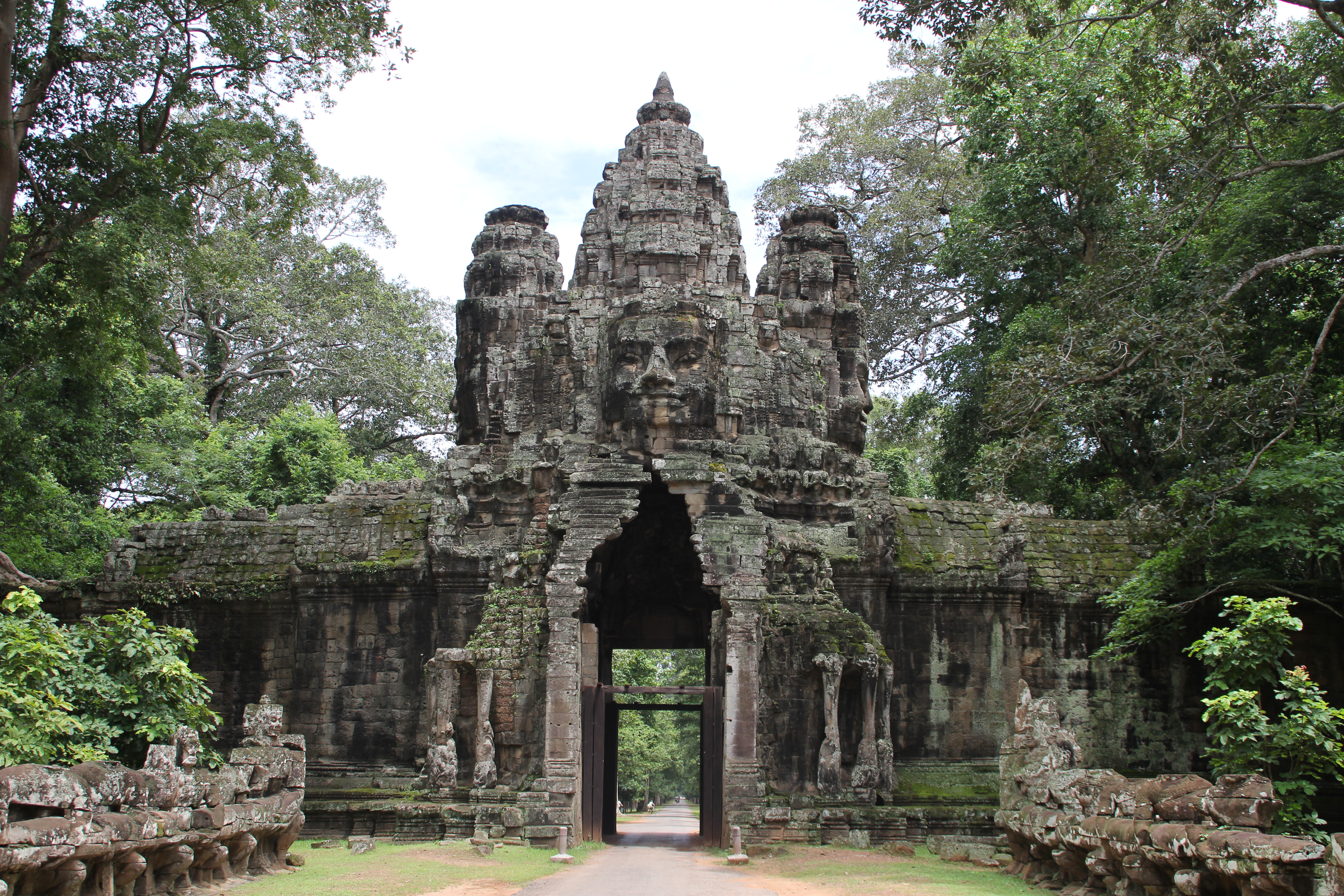 Angkor Thom Backgrounds, Compatible - PC, Mobile, Gadgets| 5184x3456 px