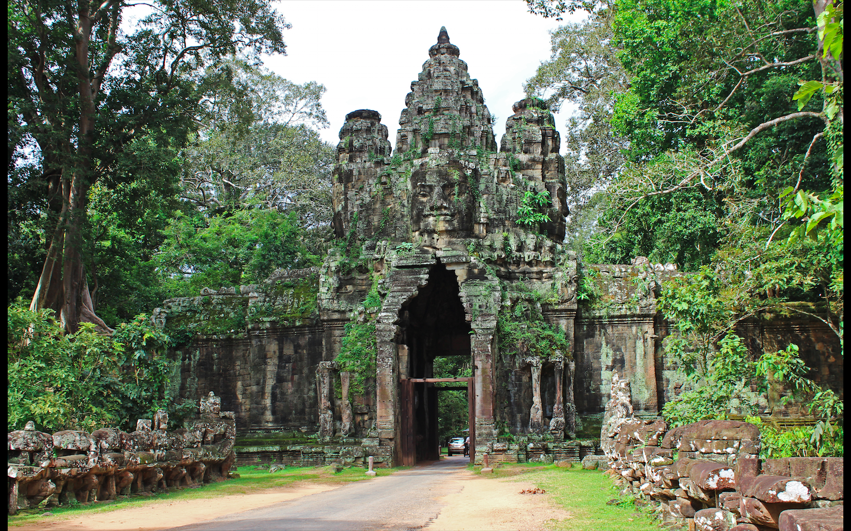 High Resolution Wallpaper | Angkor Thom 1440x900 px