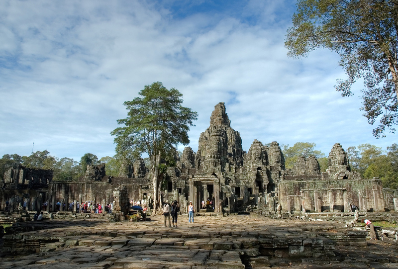 HD Quality Wallpaper | Collection: Religious, 800x541 Angkor Thom