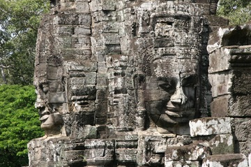 Nice Images Collection: Angkor Thom Desktop Wallpapers